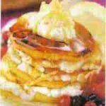 Apfel-Quark-Dessert