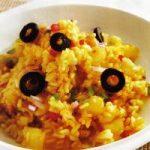 Curryreis mit Ananas