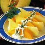 Mango-Melonen-Salat