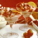 Erdbeer-Himbeer-Dessert