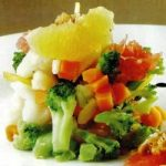 Fruchtiger Gemüsesalat