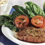 Gegrilltes Rinderfilet mit Salat