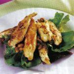 Hühnerbrust mit Koriander und Erdnüssen