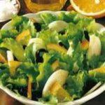 Kopfsalat mit Orangen