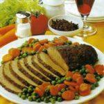 Kräuter-Rinderbraten mit Gemüse