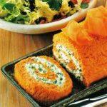 Mohrrüben-Käse-Rolle