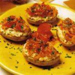 Ofenkartoffeln mit Käse-Lachs-Füllung