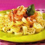 Pasta mit Shrimps