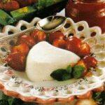 Quark-Mousse mit Erdbeeren