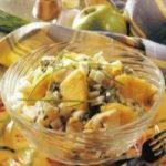 Salat mit Palmenherzen und Artischocken