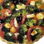 Warmer Tomaten-Broccoli-Salat
