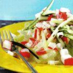 Surimi-Salat