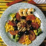 Tomaten-Thunfisch-Salat mit Shrimps
