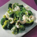 Broccoli-Shrimps-Salat