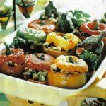 Gefülltes Gemüse