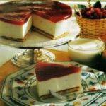 Joghurt-Marmeladen-Torte