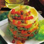 Kalte Lachs-Lasagne