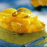 Orangen-Joghurt-Dessert
