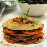 Thunfisch-Tortillas mit Paprika und Tomate