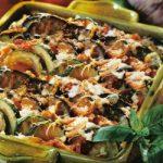 Zucchini-Auberginen-Gratin