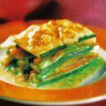 Zucchini-Gemüse-Lasagne