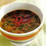 Bohnen-Spinat-Suppe