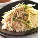 Couscous mit Zucchinistreifen