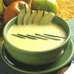 Cremige Apfel-Lauch-Suppe
