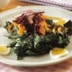 Eier-Spinat-Salat