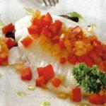 Fischfilet mit Paprika