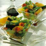 Gedünstetes Gemüse in Orangensoße
