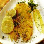 Gegrillter Lachs mit Senf und Kräutern