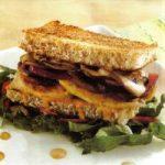 Hühnchen-Champignon-Sandwich