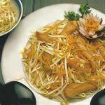 Hühnchen Oriental mit Sojasprossen