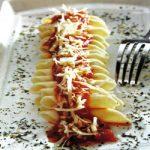 Maccaroni mit Tomatensosse
