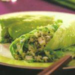 Reis-Roulade mit Gemüse