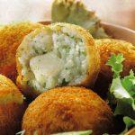 Reisbällchen mit Mozzarella
