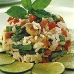 Reissalat mit Kokosmilch