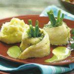Seezungenröllchen mit grünen Bohnen