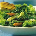 Warmer Gemüse-Salat